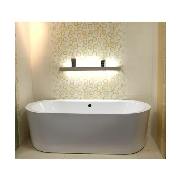 baignoire ilot bois affordable baignoire ilot unique. Black Bedroom Furniture Sets. Home Design Ideas