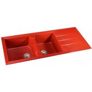 carrelage rouge brique excellent m carrelage en verre rouge orange avec des paillettes motif. Black Bedroom Furniture Sets. Home Design Ideas